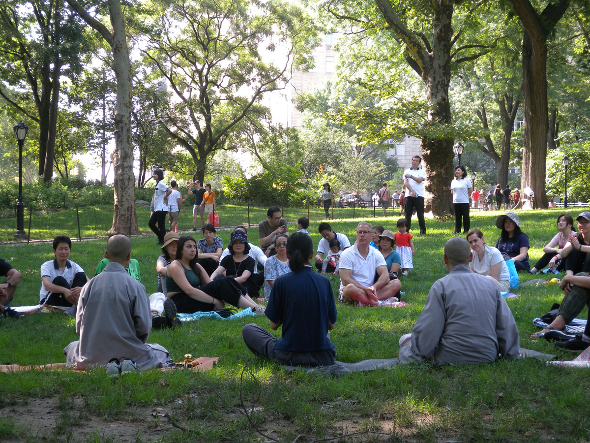 Photo Album - 2018 DDYP Central Park Outdoor Meditation
