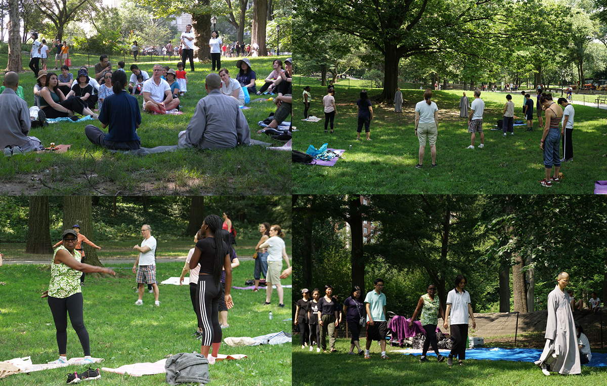 Report - 2018 DDYP Central Park Outdoor Meditation in New York