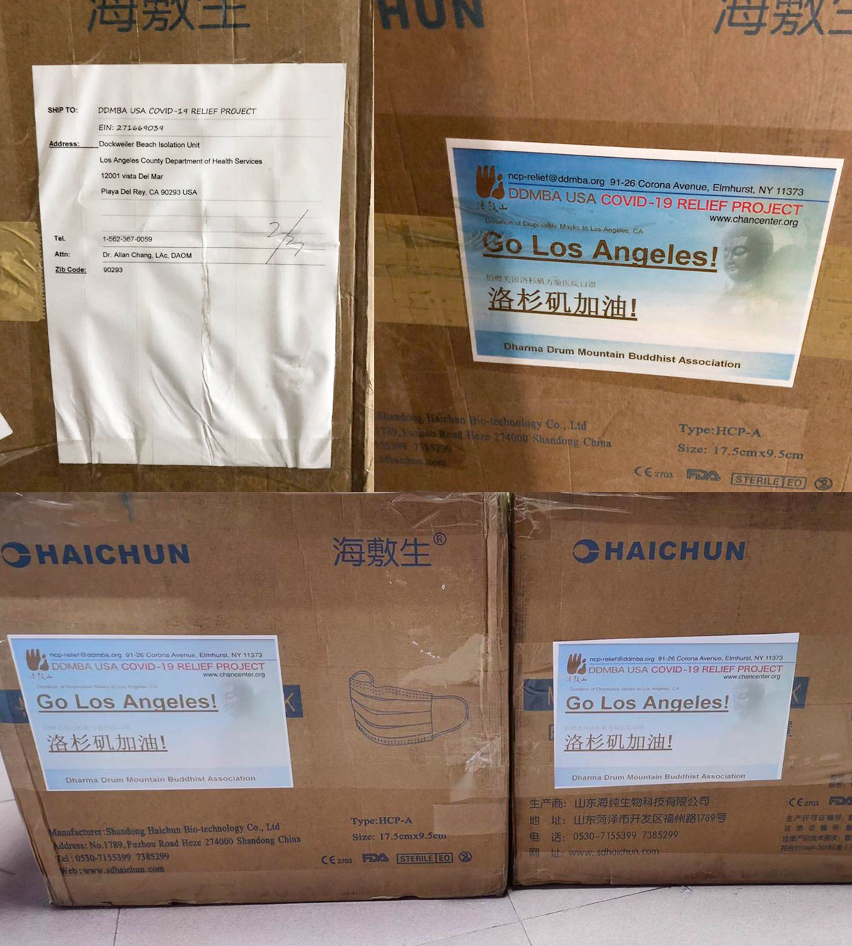 DDMBA USA COVID-19 Relief Project Delivery Report - Los Angeles - Los Angeles Health Service (Isolation Unit)