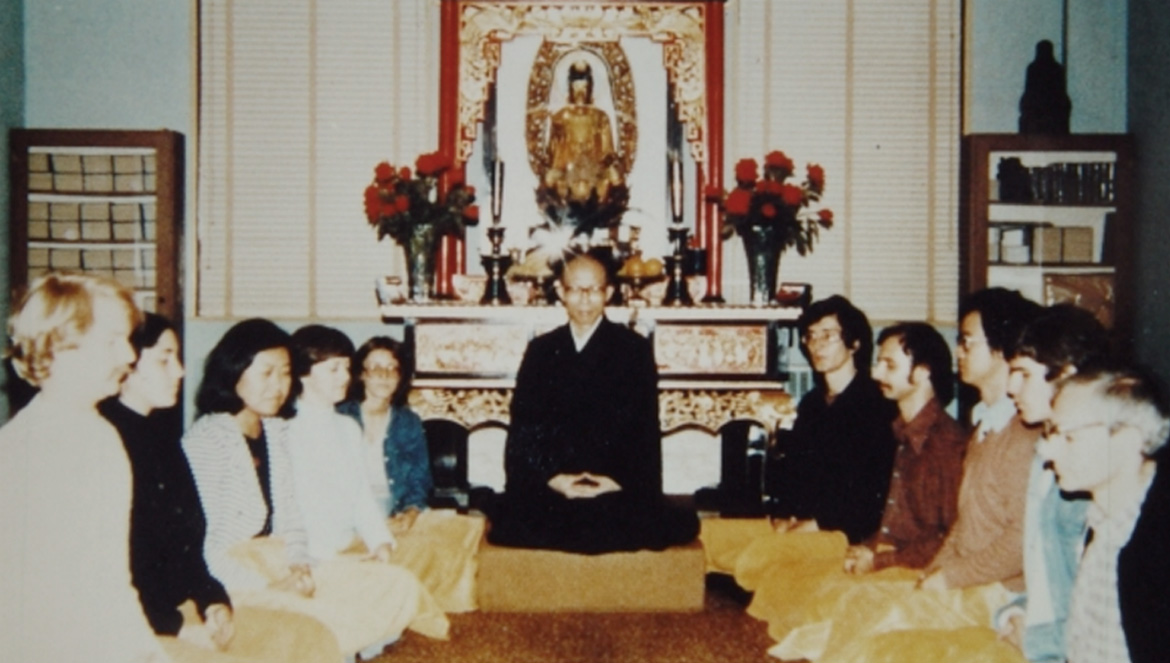 Our Founder - Chan Master Sheng Yen - Propagation of Buddhadharma in the West