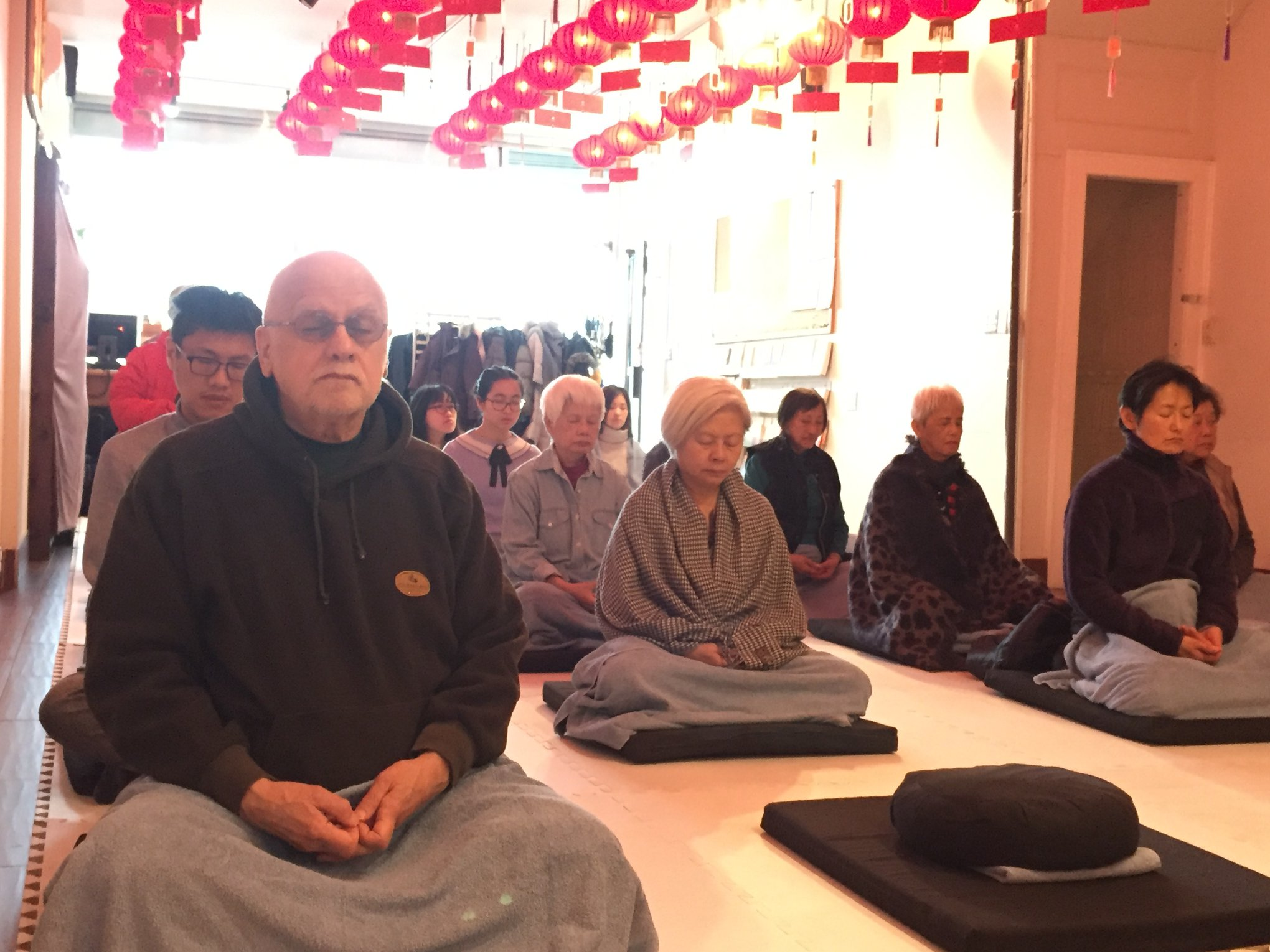 Report - Passing on the Lamp 7-Day Chan Retreat - The Dharma Service of Compassionate Samadhi Water Repentance
