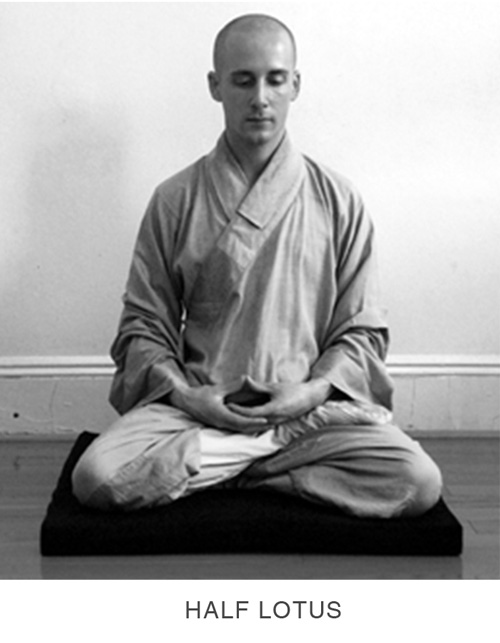 Sitting Meditation - Half Lotus