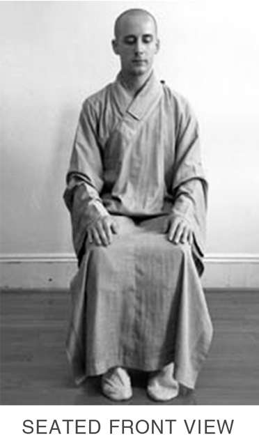 Sitting Meditation - Seated Front View