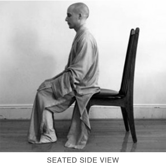Sitting Meditation - Seated Side View